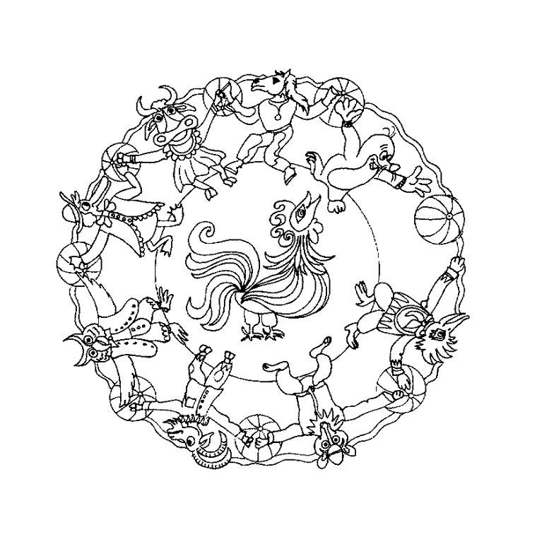 Coloriages à imprimer : Animaux, numéro : 16254