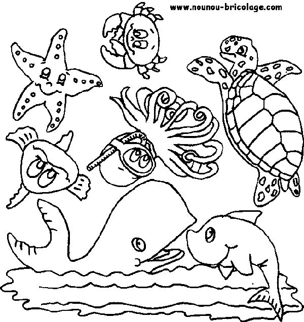 Coloriages à imprimer : Animaux, numéro : 627328