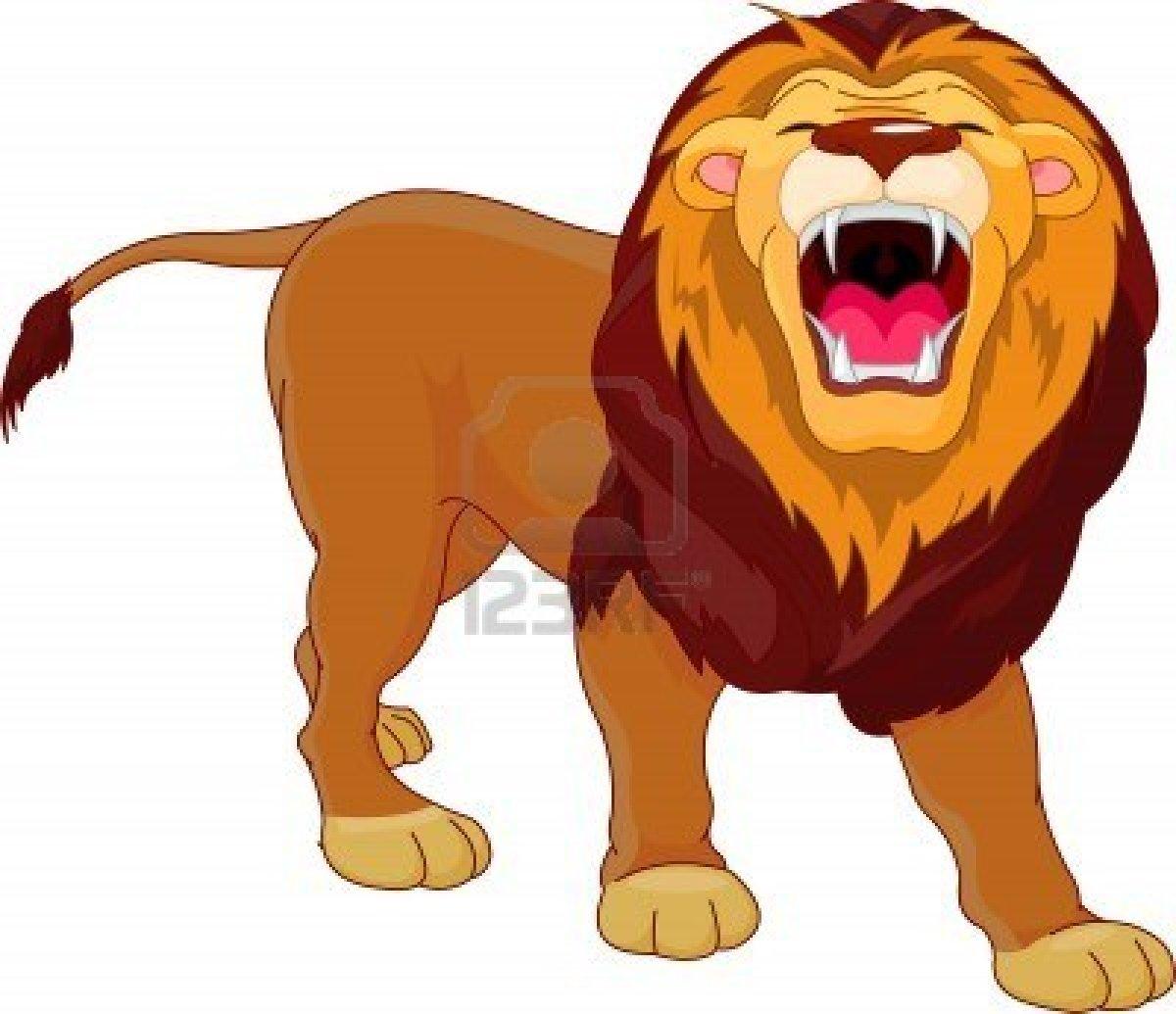 Dessins En Couleurs A Imprimer Lion Numero 203785