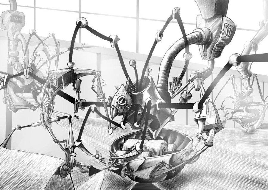 Coloriages à imprimer : Arachnides, numéro : 613414