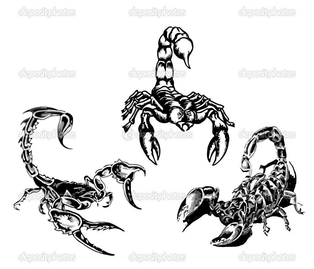 Coloriages à imprimer : Scorpion, numéro : 24623