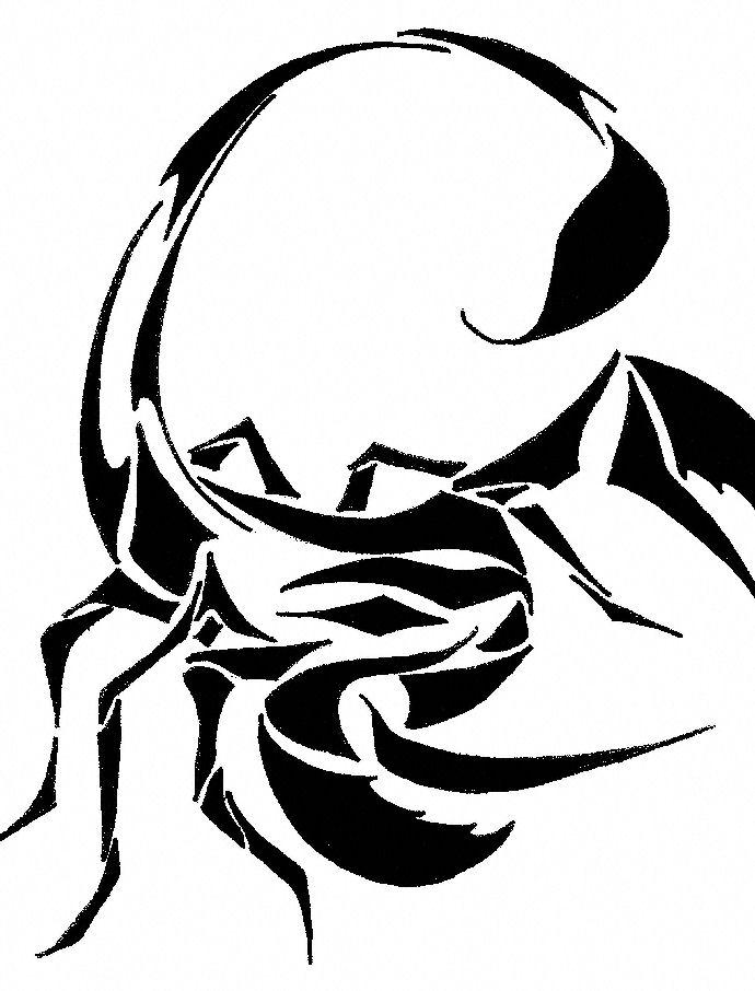 Coloriage à imprimer : Animaux - Arachnides - Scorpion numéro 28323