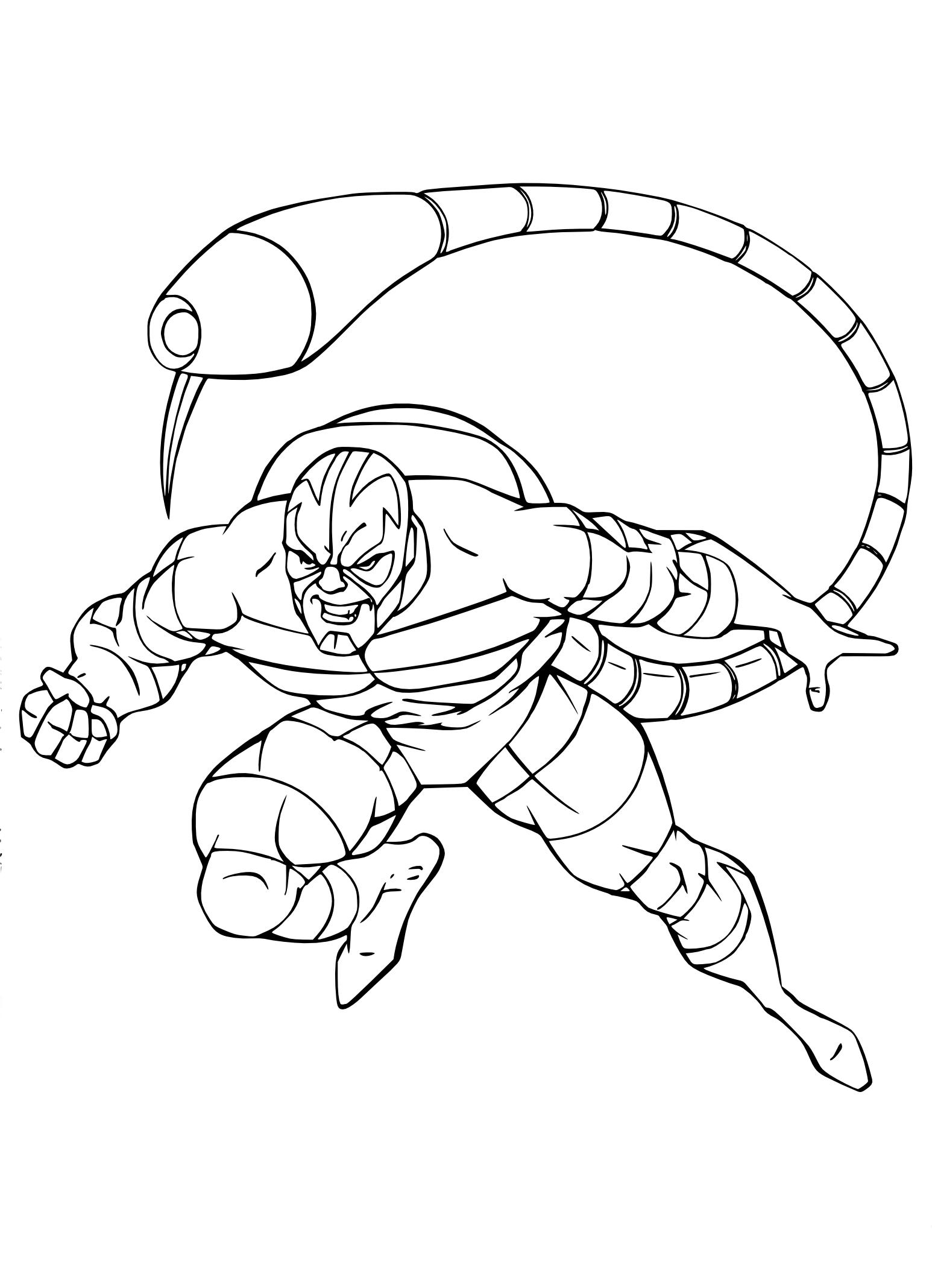 Coloriages à imprimer : Scorpion, numéro : cabccb38