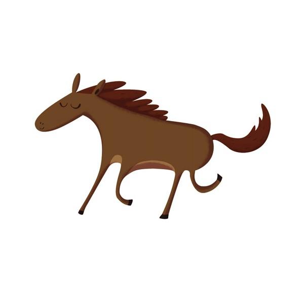 Dessins en couleurs imprimer cheval num ro 19336 - Cheval dessin couleur ...