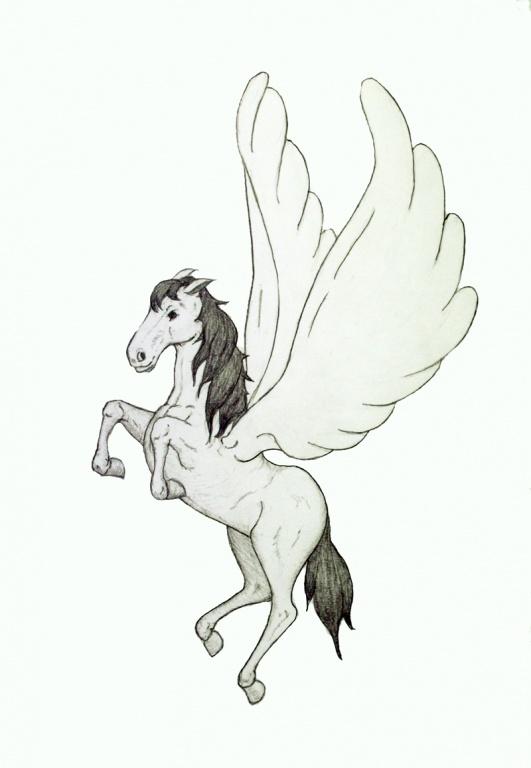 Dessins en couleurs imprimer cheval num ro 266116 - Cheval dessin couleur ...