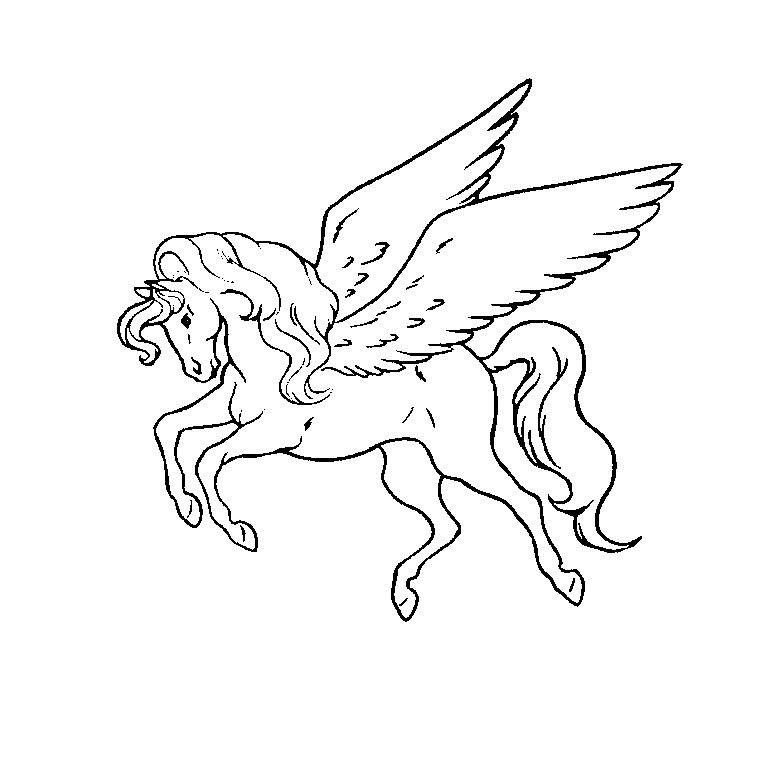 Coloriages imprimer cheval num ro 27068 - Chevaux dessins ...