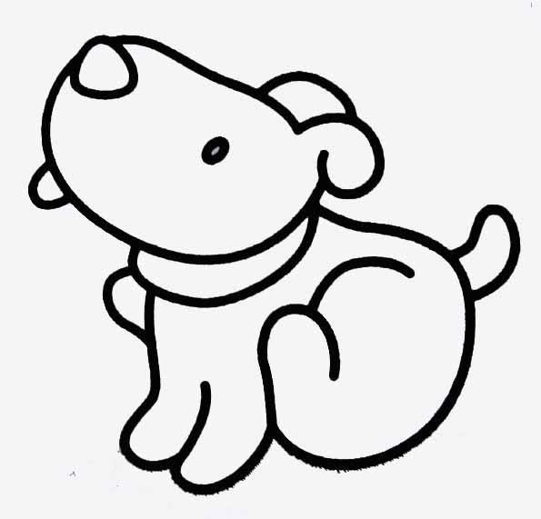 Coloriages imprimer chien num ro 27813 - Coloriage de chiot a imprimer ...