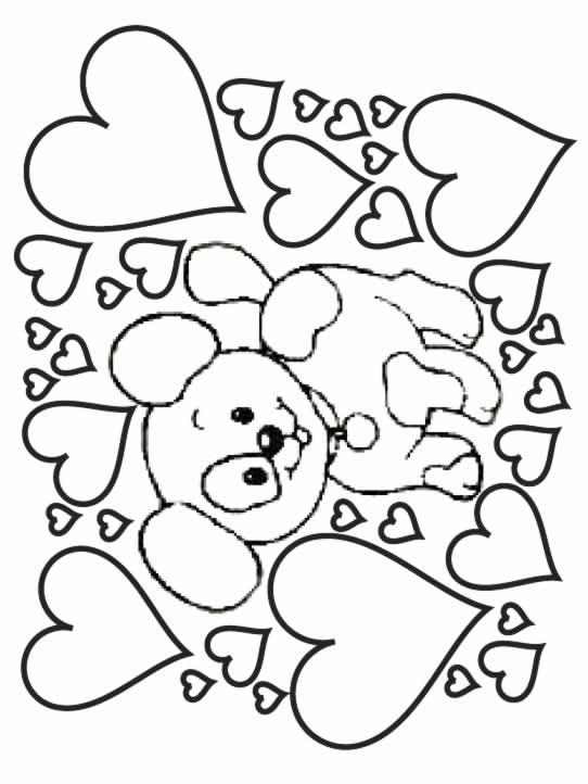 Coloriages à imprimer : Chien, numéro : 5551