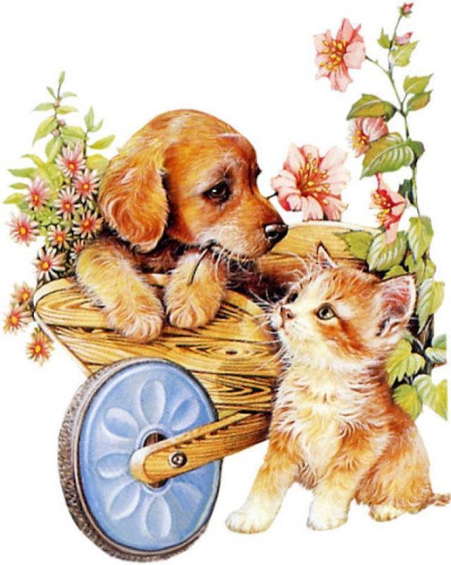 Dessins en couleurs imprimer chien num ro 598162 - Dessins de chats rigolos ...