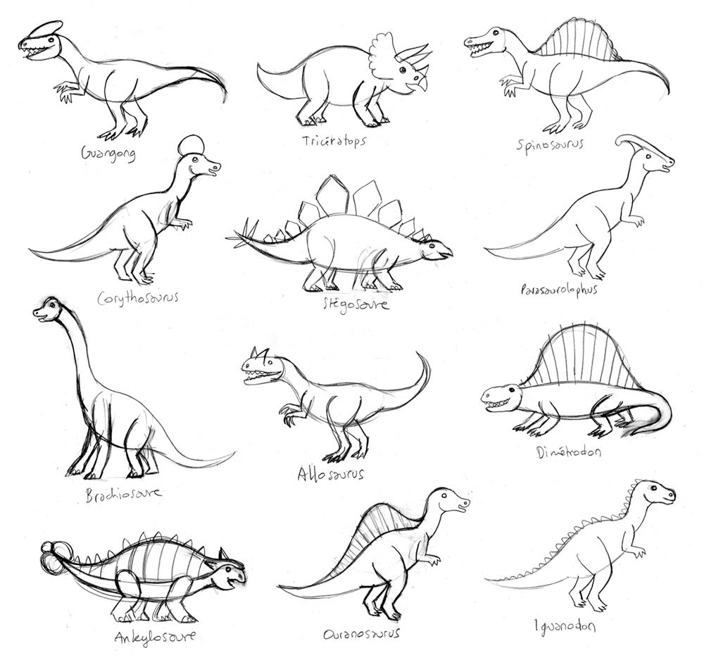 Coloriages A Imprimer Dinosaures Numero 209533