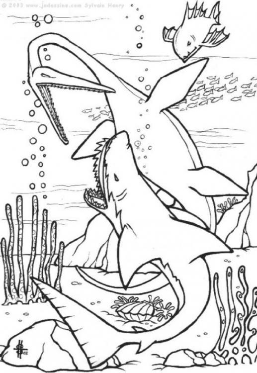 Coloriages à imprimer : Dinosaures, numéro : 226676