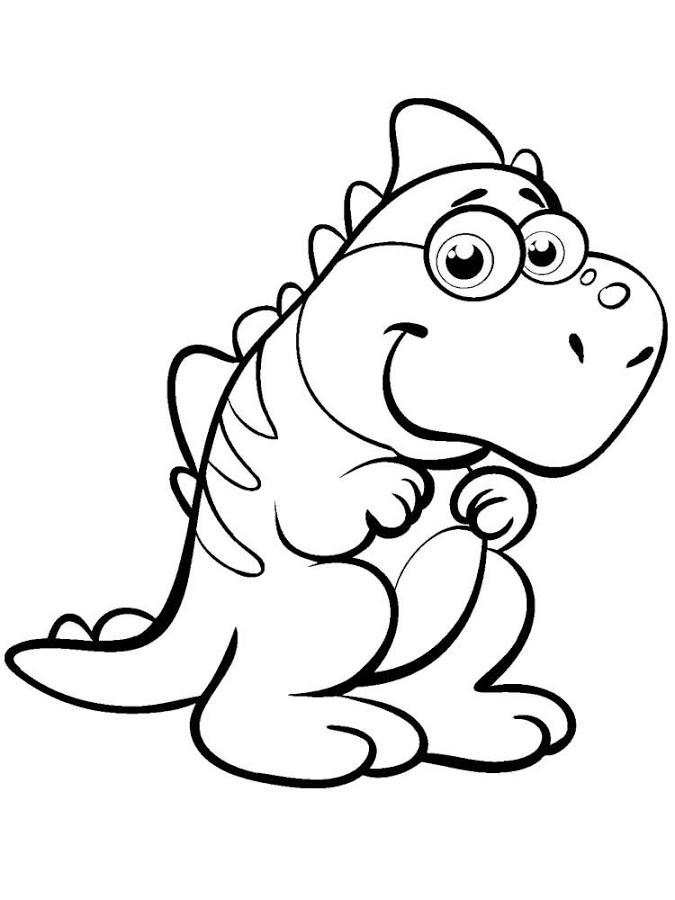 Coloriages à imprimer : Dinosaures, numéro : 753891