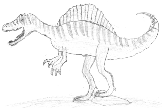 Coloriage A Imprimer Dinosaure Spinosaurus.Coloriages A Imprimer Brachiosaure Numero 253211