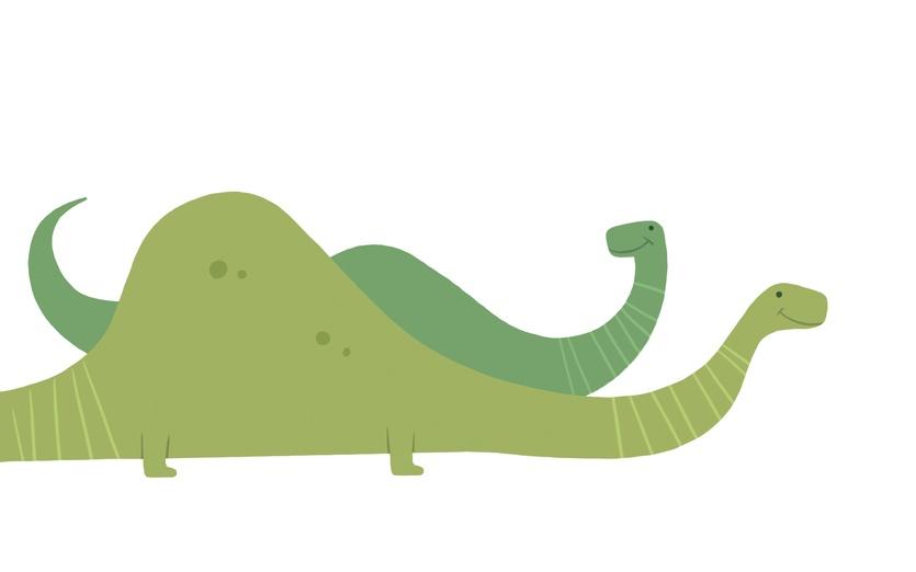 en couleurs à imprimer animaux dinosaures diplodocus numéro