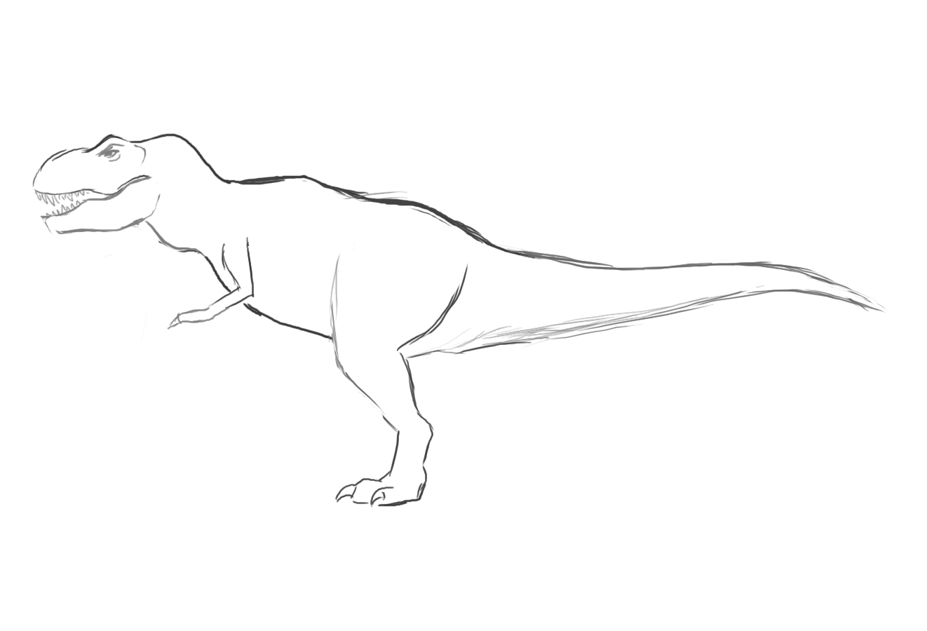 Coloriages imprimer t rex num ro 220082 - Dessin dinosaure t rex ...