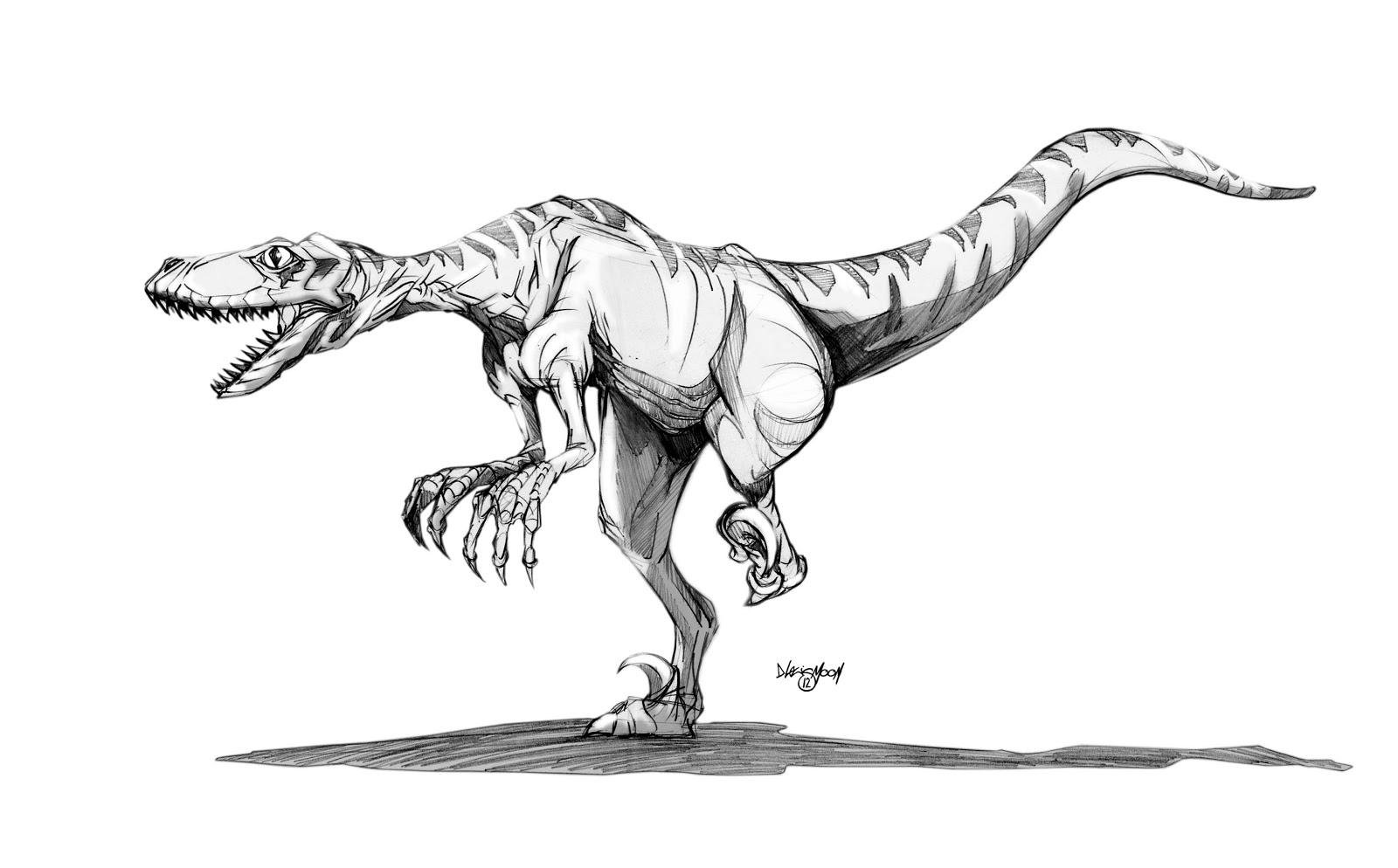 imprimer le coloriage vlociraptor numro 277057