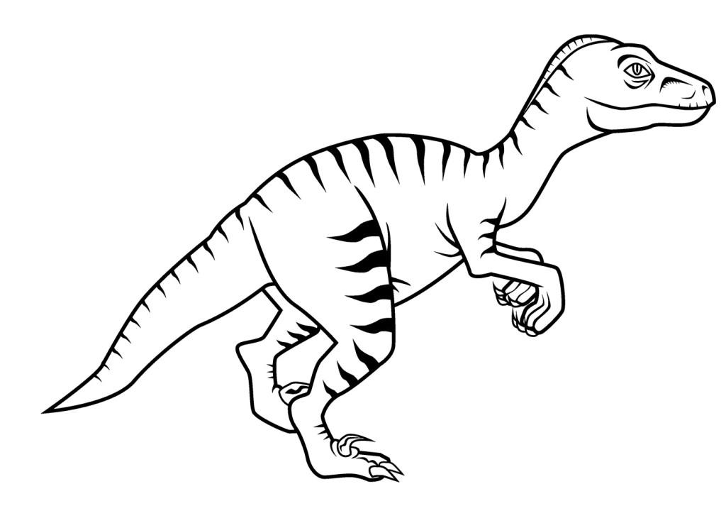 Coloriages imprimer V lociraptor