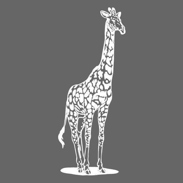 Coloriages à imprimer : Girafe, numéro : 754228