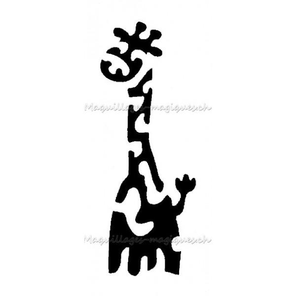 Coloriages à imprimer : Girafe, numéro : 754236