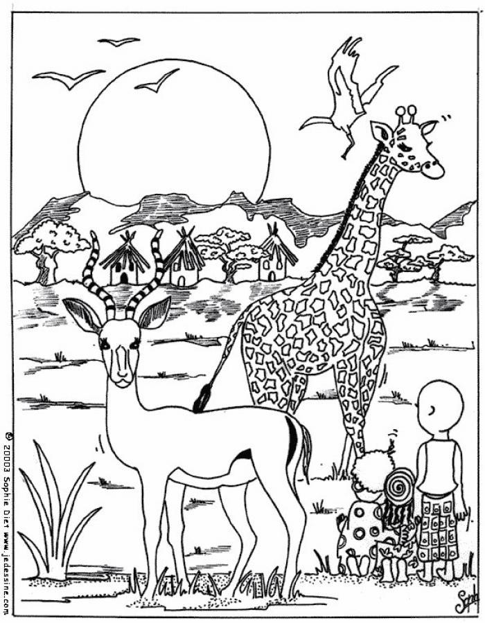 free coloring pages uganda - photo#26