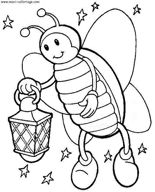 Coloriages à imprimer : Insectes, numéro : 23798