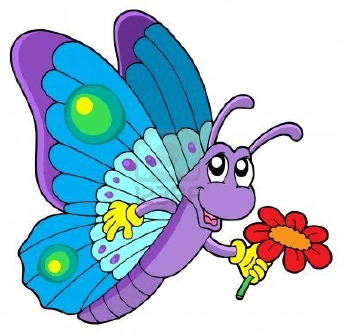 Super en couleurs à imprimer : Animaux - Insectes - Papillon numéro 119775 MN91