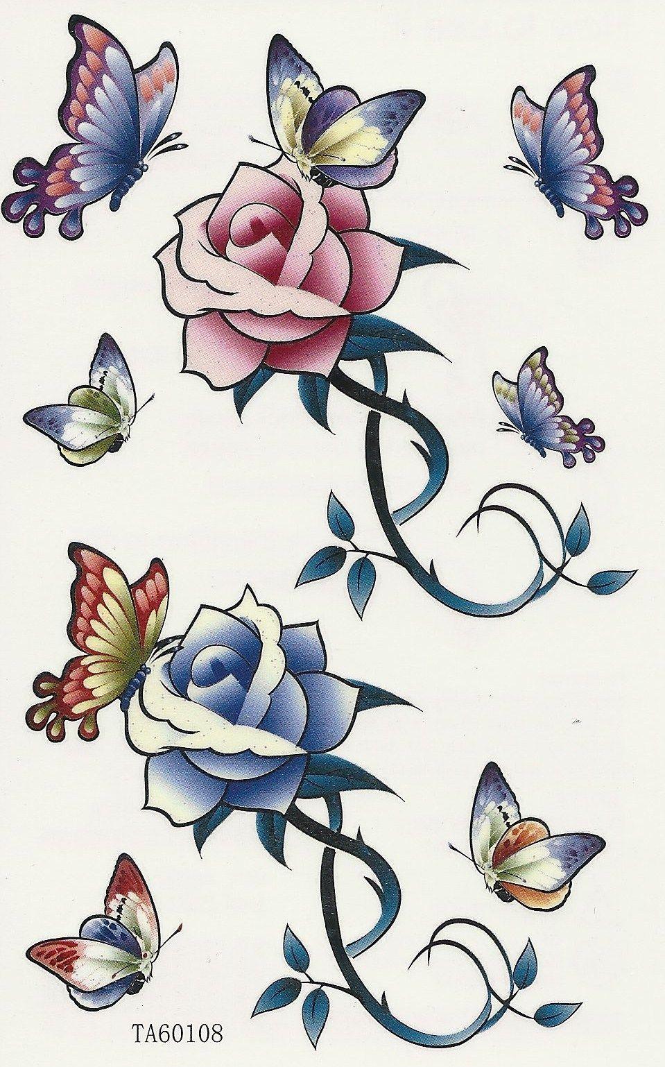 Dessins En Couleurs à Imprimer Papillon Numéro 119764