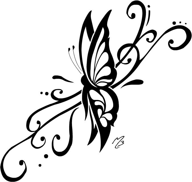 Coloriages imprimer papillon num ro 26955 - Dessin papillon facile ...