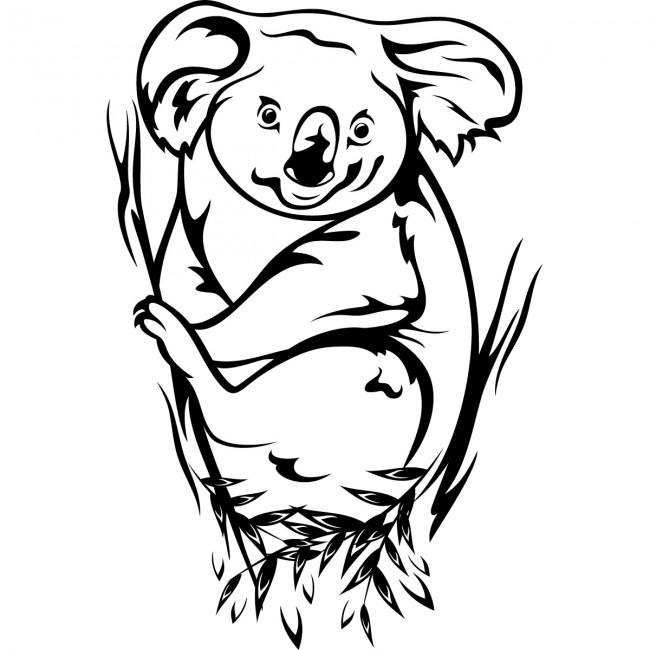 Coloriages à imprimer : Koala, numéro : 615019