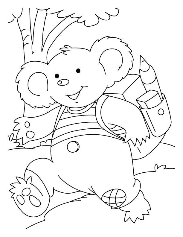 Coloriages à imprimer : Koala, numéro : 619772
