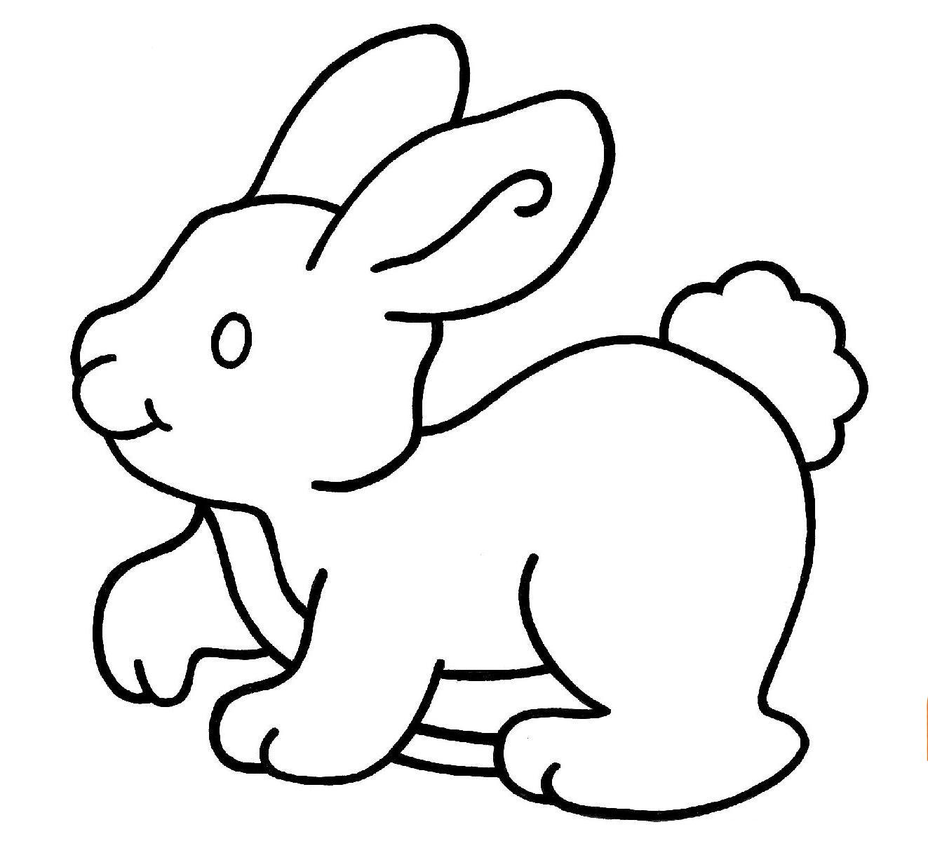 Coloriages imprimer lapin num ro 145949 - Lapin en dessin ...