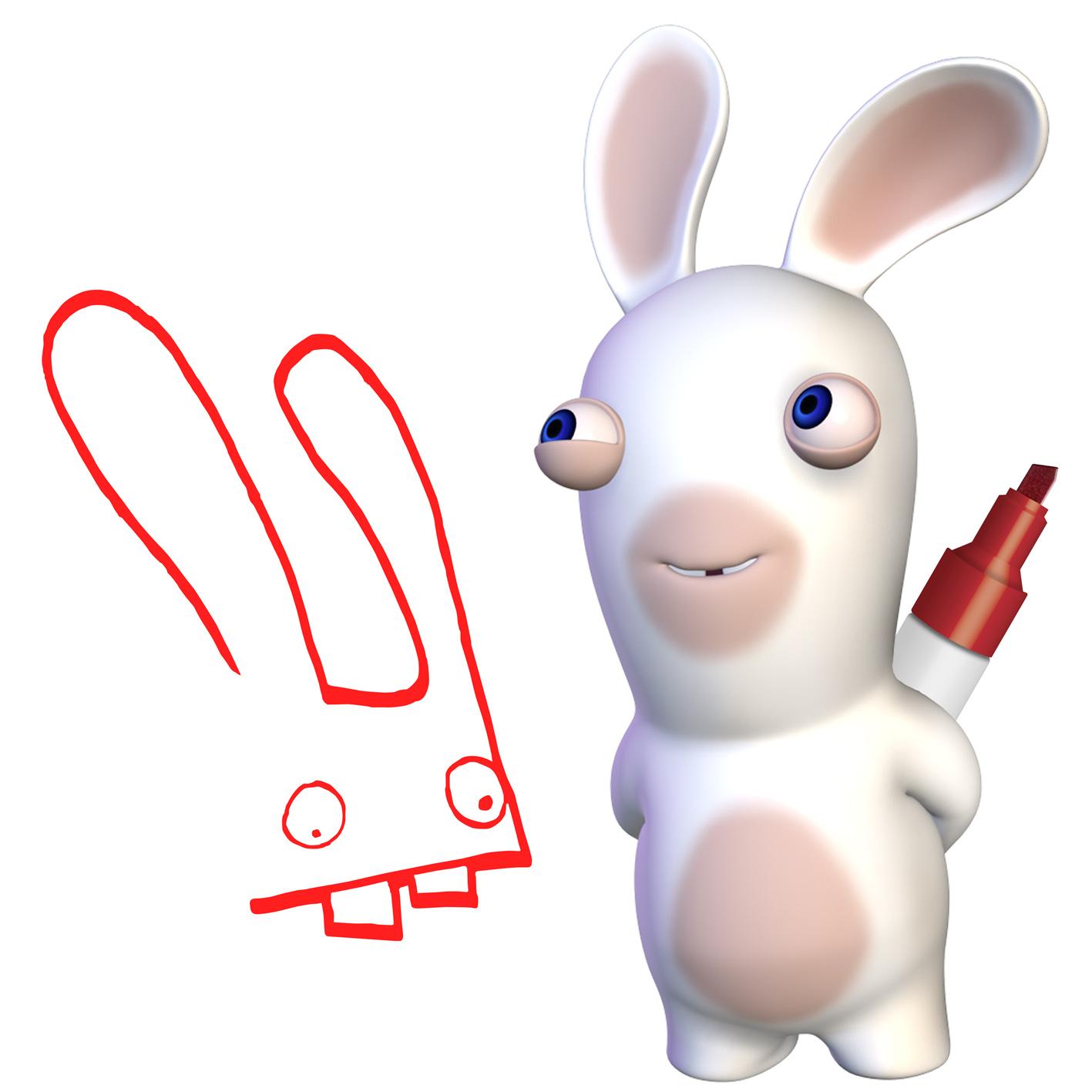 Dessins en couleurs imprimer lapin num ro 70092 - Lapin cretin a imprimer ...