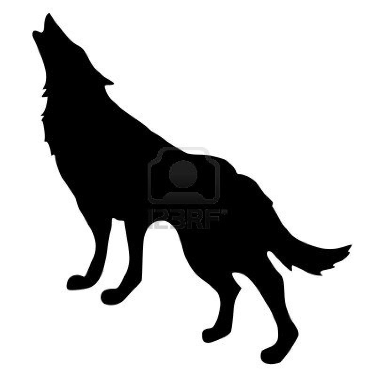 картинки волк тень