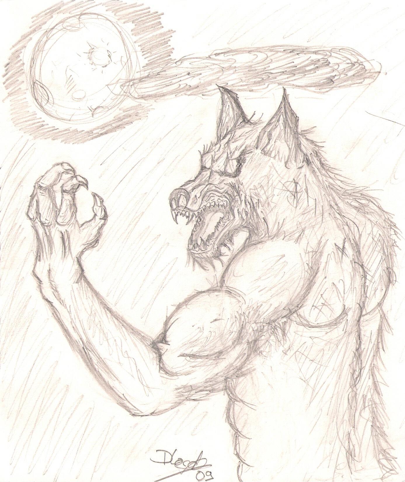 Impressionnant image a imprimer de loup - Dessin loup garou ...