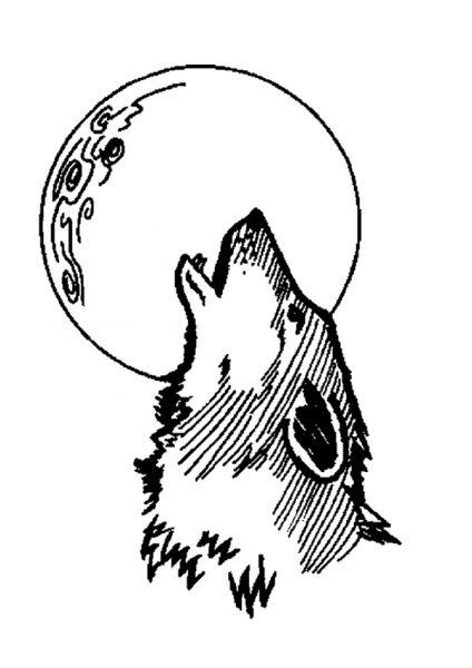 Coloriages à imprimer : Loup, numéro : 4006