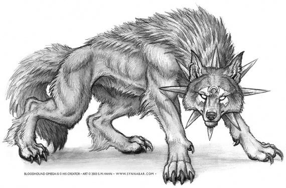 Coloriages à imprimer : Loup, numéro : 7811
