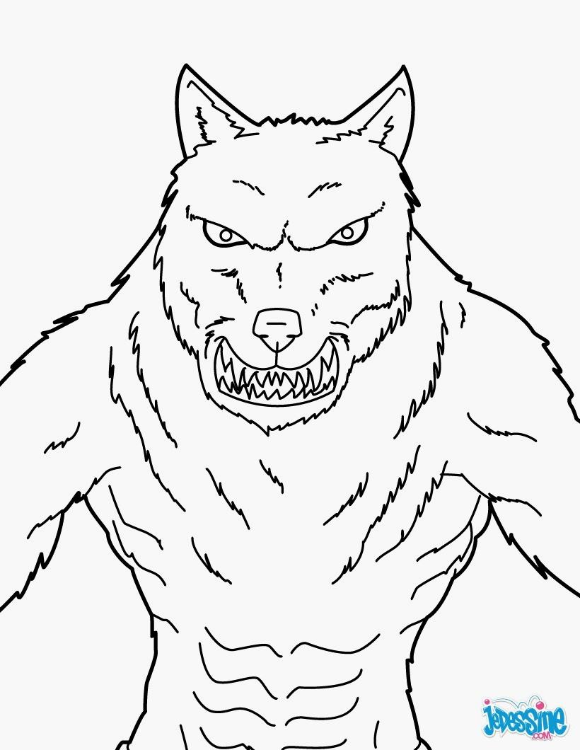 Coloriages à imprimer : Loup, numéro : ca59449d