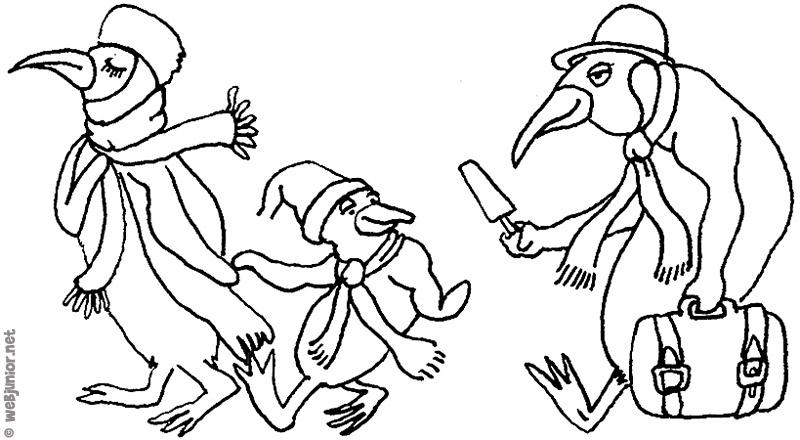 Coloriages à imprimer : Pinguoin, numéro : 614139