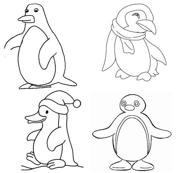Coloriages à imprimer : Pinguoin, numéro : 619688