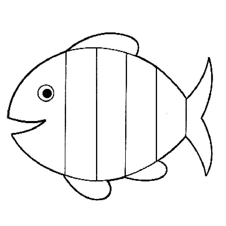 Coloriages imprimer poisson num ro 145868 - Dessin enfant poisson ...
