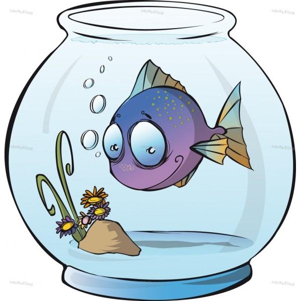 Dessin en couleurs imprimer animaux poisson num ro for Deco bocal poisson