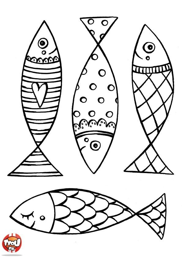 Dessins en couleurs imprimer poisson num ro 19123 - Poisson dessin couleur ...