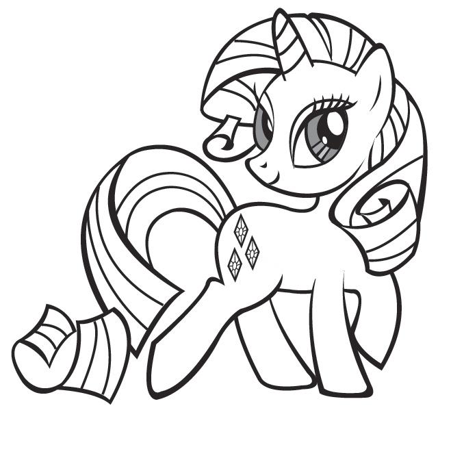 Dessins en couleurs imprimer poney num ro 336921 - Comment dessiner un poney ...