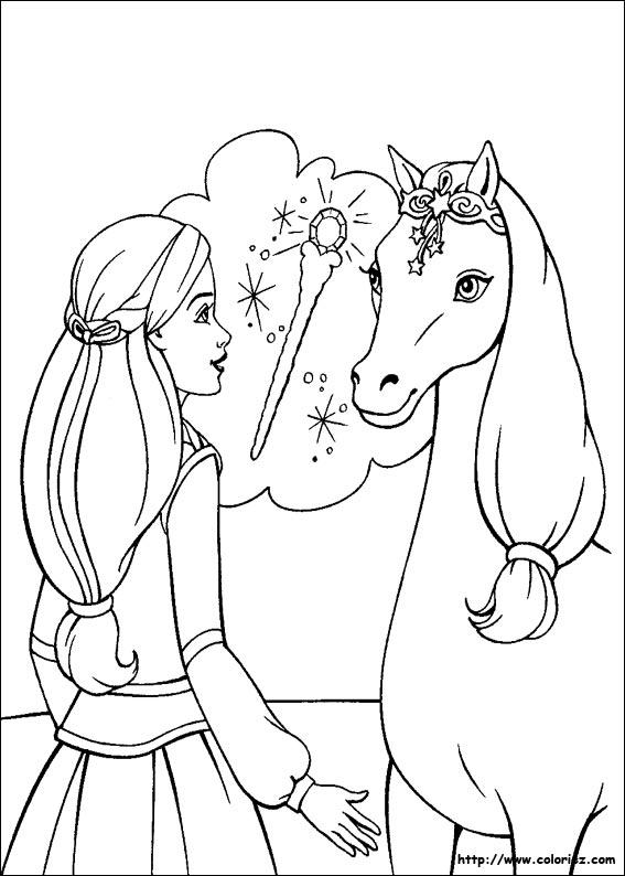 Coloriages imprimer poney num ro 3460 - Coloriage de om ...
