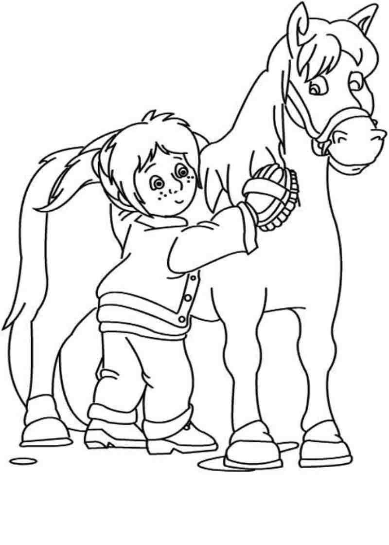 Coloriages imprimer poney num ro 5317 for Cavallo da disegnare per bambini