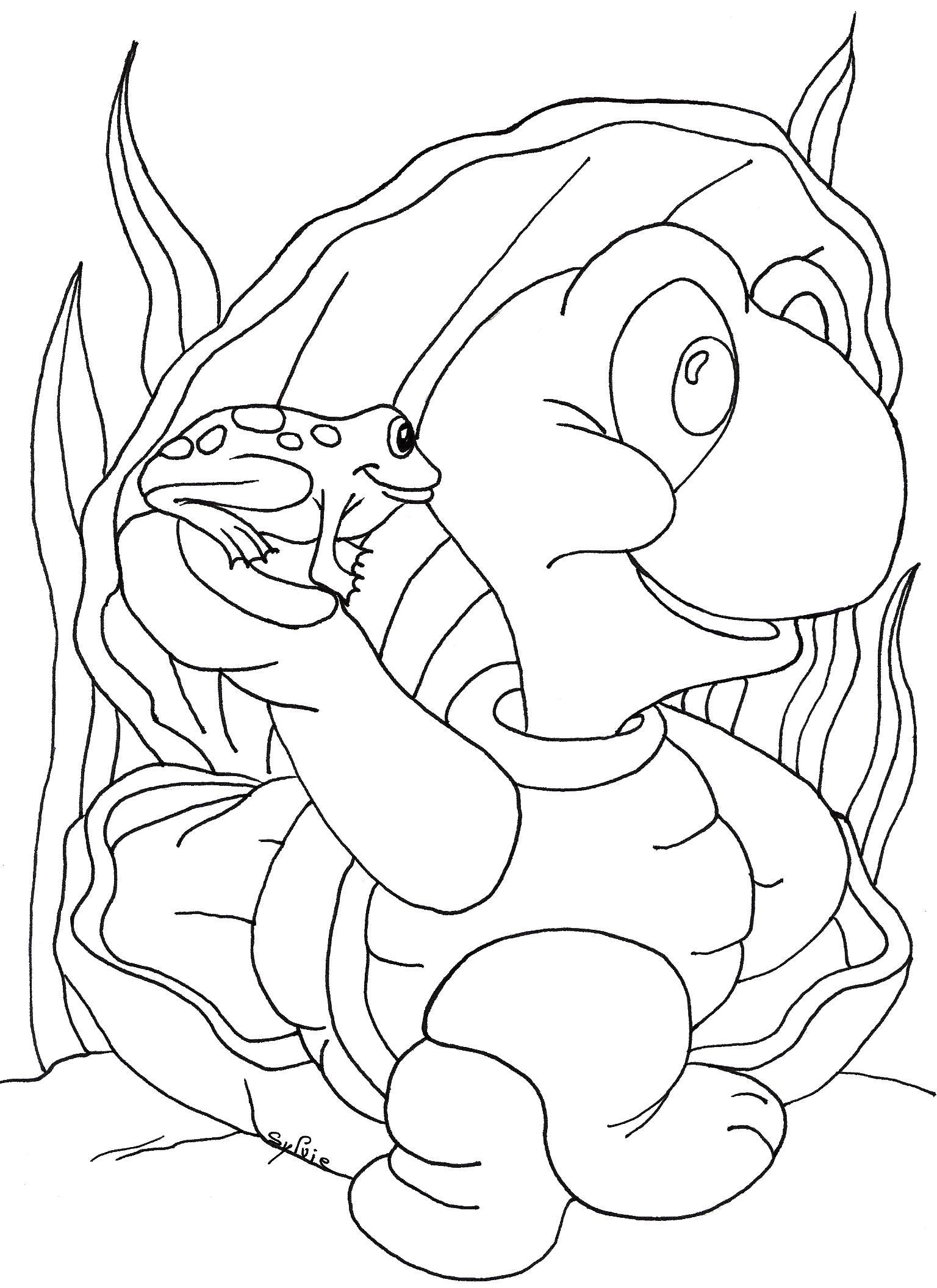 Coloriages à imprimer : Reptiles, numéro : 23982