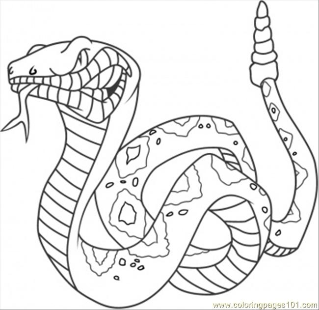 Coloriages à imprimer : Reptiles, numéro : 23983