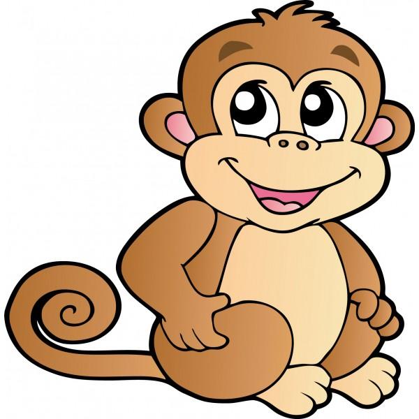 Dessins en couleurs imprimer singe num ro 108753 - Image animaux dessin ...