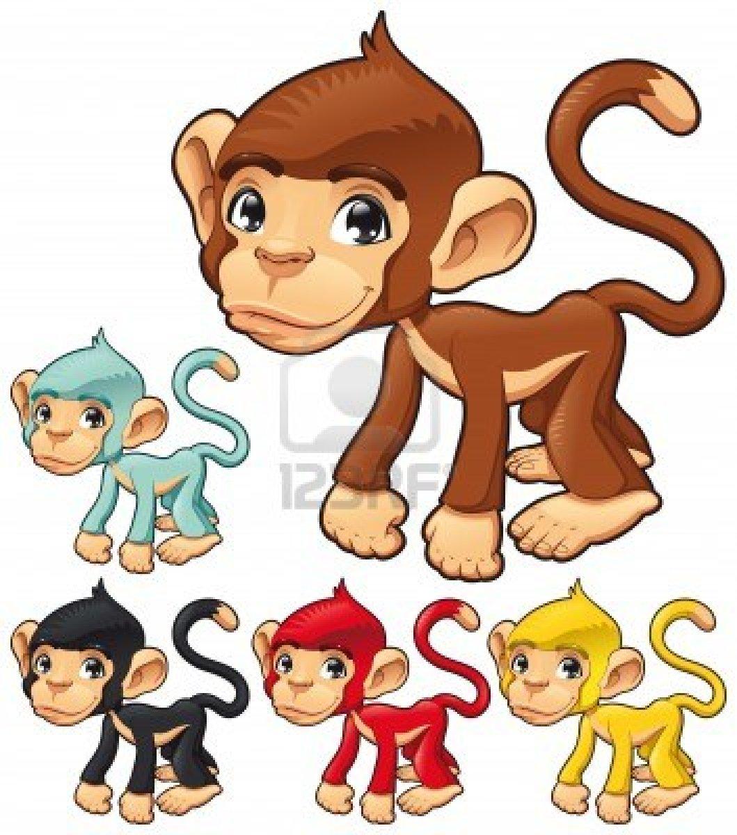 Dessins en couleurs imprimer singe num ro 108787 - Animaux a imprimer en couleur ...
