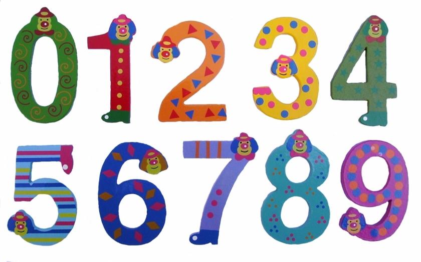 Connu en couleurs à imprimer : Chiffres et formes numéro 26642 JB68